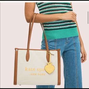 kate spade new york Market Canvas Large Tote